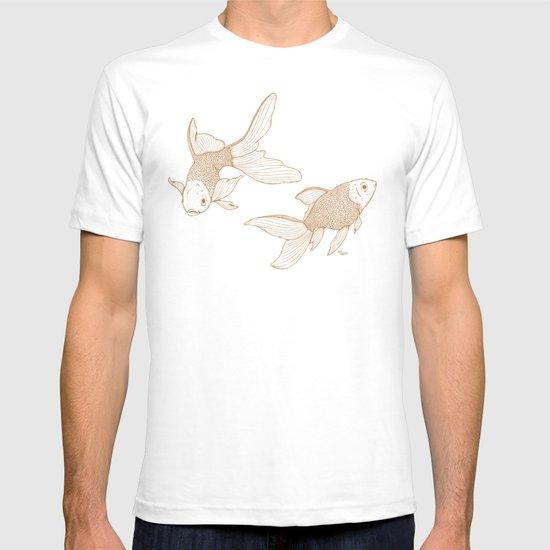 Vintage Goldfishes  T-shirt