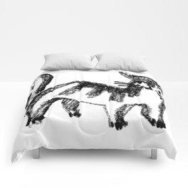 Striped Cat Comforters