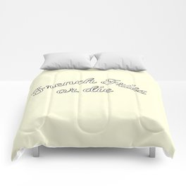 French fries or die Comforters