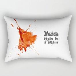 tomato stain Rectangular Pillow