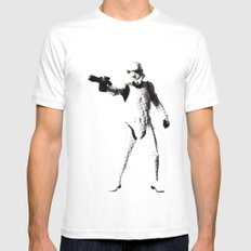 Storm Trooper White Mens Fitted Tee MEDIUM