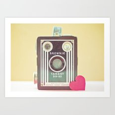 I Heart Photography Art Print