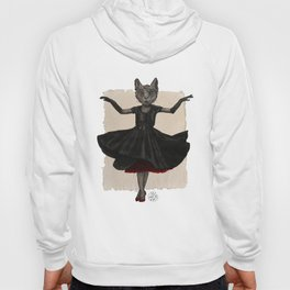 Twirling, Twirling, Couture Kitty Hoody