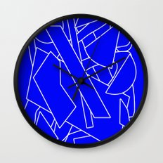 BluE humble Wall Clock