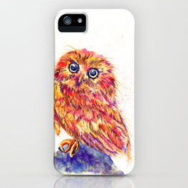 Caffeinated Owl iPhone Case