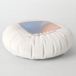 clouds ms paint Floor Pillow