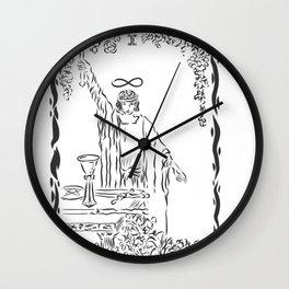 THE MAGICIAN TAROT CARD Wall Clock