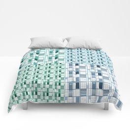 Sea-Cuadricula Comforters