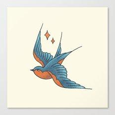 Swallow Flash  Canvas Print