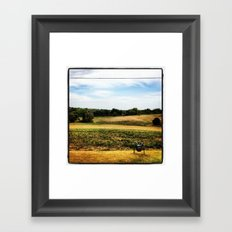 Outfields of Kansas City, KS Framed Art Print