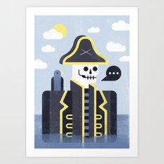 Dead Men Tell No Tales Art Print