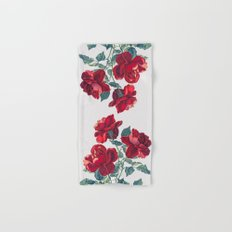 Red Roses Hand & Bath Towel