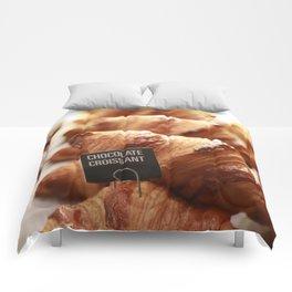 Chocolate Croissants - Portland, Oregon Comforters