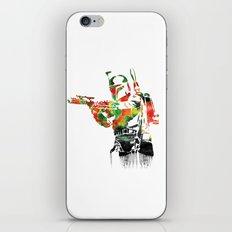 Boba Fett Print iPhone & iPod Skin