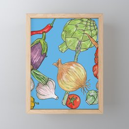 Veggie Fix Framed Mini Art Print