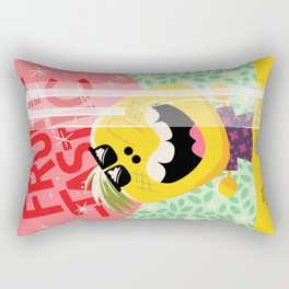 Rooty Tooty Fruity Punch Rectangular Pillow