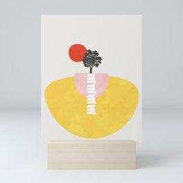 Modern shapes 5 Mini Art Print