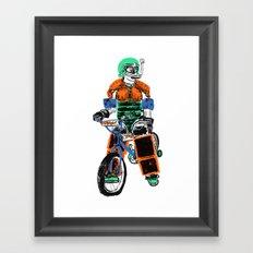 Over Protection Framed Art Print