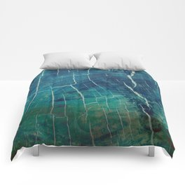Nature abstract obsession Comforters