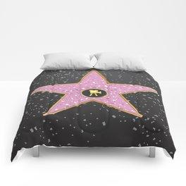 Vintage Hollywood movie star poster  Comforters