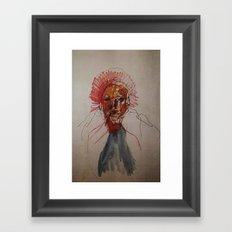 study of a woman Framed Art Print
