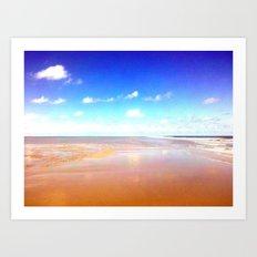 Beach III. Art Print