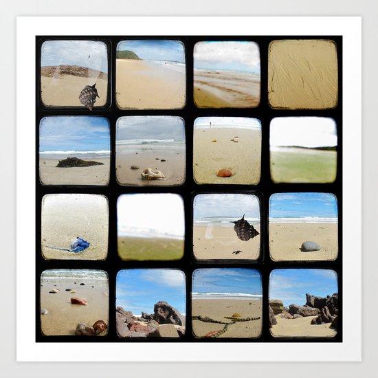 Beach Collective - Through The Viewfinder (TTV) Art Print