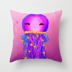 Princess Jelly Throw Pillow