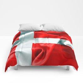 Denmark Flag Comforters