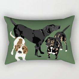 Nicky, Petunia and Lil Joe Rectangular Pillow