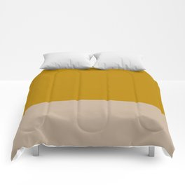 Mustard yellow Nude Comforters