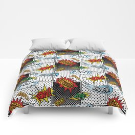 Onomatopoeia! Comforters