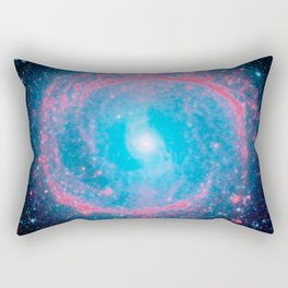 Lying in a zero circle ii Rectangular Pillow