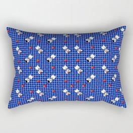 KiniArt Westie Love Doctor Rectangular Pillow