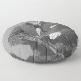 Sir Winston Churchill Floor Pillow