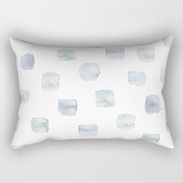 Wintry Windows Rectangular Pillow