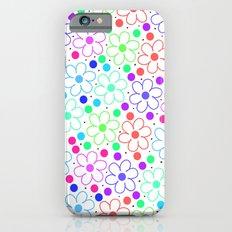 FUN FLOWERS Slim Case iPhone 6s