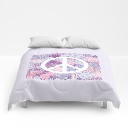 Peace and love Comforters