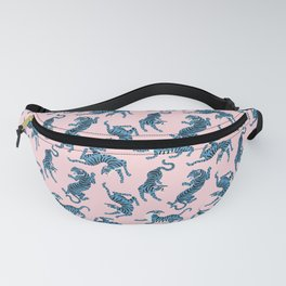 Rad Tigers- Blue and Pink Fanny Pack