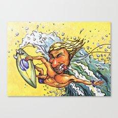 Brazilian Surf Boy Canvas Print