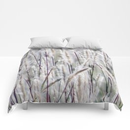 Silver hair grass Comforters