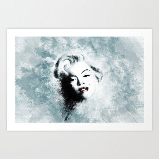 Ohh Marilyn! Art Print