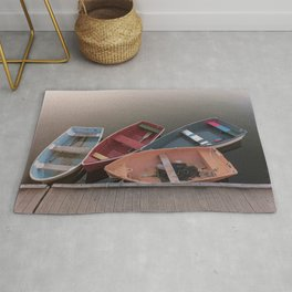 Four Skiffs Rug