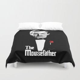 Walt E.Disney, The Mousefather Duvet Cover