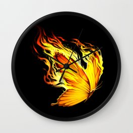BurnOut Wall Clock
