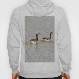 Canadian Geese Family Hoody