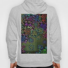 Flowers Floral Plants Hoody