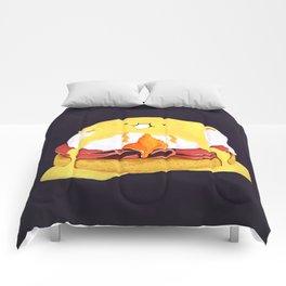 Egg Benedict Comforters