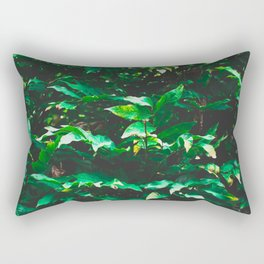 Garden leaf jungle Rectangular Pillow