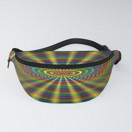 Atomic Rainbow Fanny Pack